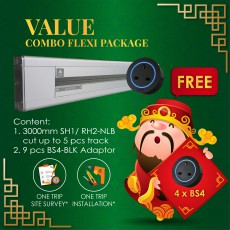 CNY2019 Value Combo Flexi Package (FREE GIFT 4 x BS4-BLK)