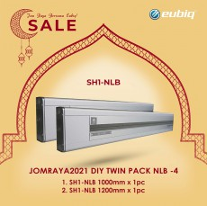 JOMRAYA2021 DIY Twin Pack 1x1000mm & 1x1200mm SH1-NLB
