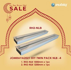 JOMRAYA2021 DIY Twin Pack 1x1000mm & 1x1200mm RH2-NLB