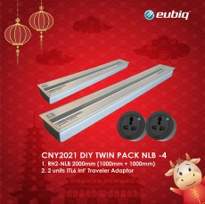CNY2021 DIY Twin Pack 2x1000mm RH2-NLB (w.2xITL6-L-BLK)