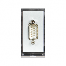 DS3b Blank Data Insert c/w Serial 9-pin Connector (Male)